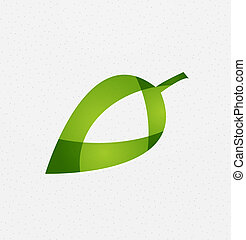 μικροβιοφορέας , πράσινο , γενική ιδέα , φύλλο