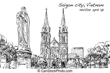 μικροβιοφορέας , πόλη , δραμάτιο , βασιλική , cityscape , ...
