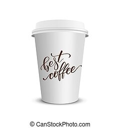 μικροβιοφορέας , ρεαλιστικός , καφέs , χάρτινο ποτήρι