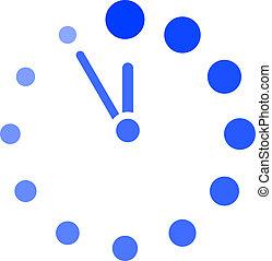 μικροβιοφορέας , ρολόι , εικόνα