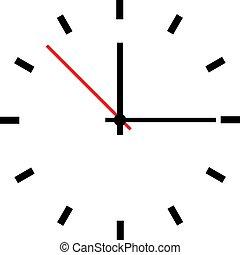 μικροβιοφορέας , ρολόι , εικόνα , ζεσεεδ