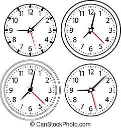 μικροβιοφορέας , ρολόι