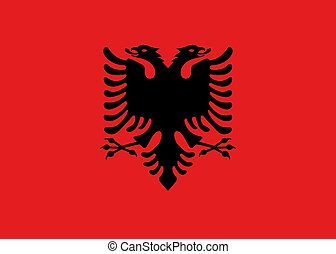 μικροβιοφορέας , σημαία , από , αλβανία