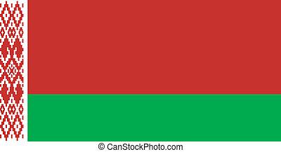 μικροβιοφορέας , σημαία , belarus , εικόνα