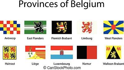 μικροβιοφορέας , σημαίες , αρμοδιότητα , από , belgium., βελγικός , states.