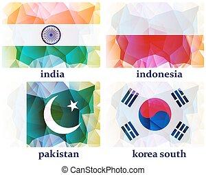 μικροβιοφορέας , σημαίες , κόσμοs , εικόνα