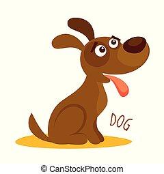 μικροβιοφορέας , σκύλοs , εικόνα , απομονωμένος