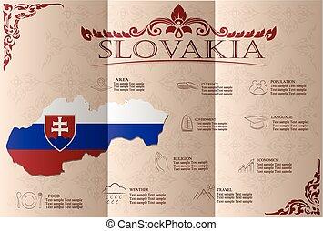μικροβιοφορέας , στατιστικός , δεδομένα , slovakia , sights., infographics