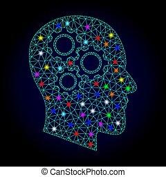 μικροβιοφορέας , σύρμα , ελαφρείς , κορνίζα , chistmas, ανακαλύπτω , εγκέφαλοs , βρόχος , ταχύτητες