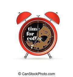 μικροβιοφορέας , τμήμα , δυο , εικόνα , ρολόι