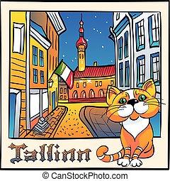 μικροβιοφορέας , χαριτωμένος , γάτα , tallinn , εσθονία