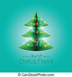 μικροβιοφορέας , χριστουγεννιάτικο δέντρο