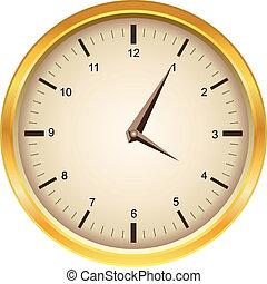 μικροβιοφορέας , χρυσαφένιος , ρολόι