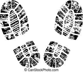 μικροβιοφορέας , bootprint