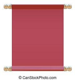μικροβιοφορέας , cloth., κόκκινο , εικόνα , σήμα