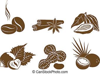 μικροβιοφορέας , ingredi, θέτω , επιδόρπιο , απεικόνιση