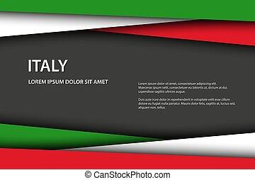μικροβιοφορέας , overlayed, σημαία , ιταλία , έλασμα , διάστημα , μοντέρνος , γκρί , ελεύθερος , μπογιά , χαρτί , εδάφιο , φόντο , ιταλίδα , γινώμενος , δικό σου , κοιτάζω