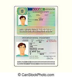 μικροβιοφορέας , slovakia , διαβατήριο , διεθνής , ανοίγω , βίζα