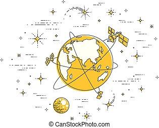 μικροβιοφορέας , white., περιβάλλω , elements., διάστημα , επικοινωνία , λεπτός , καθολικός , απομονωμένος , τεχνητό , theme., πλανήτης , δορυφόρος , άλλος , εικόνα , αστέρας του κινηματογράφου , γη , γραμμή , τεχνολογία , 3d