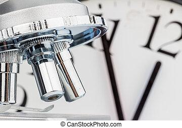 μικροσκόπιο , closeup