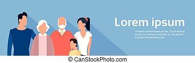 μικρόκοσμος , οικογένεια , γενεά , μεγάλος , γονείς , παππούς και γιαγιά