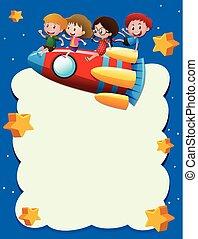 μικρόκοσμος , πύραυλοs , διάστημα , φόρμα , ιππασία , σύνορο