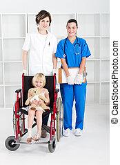 μικρός , ιατρικός , δουλευτής , ασθενής