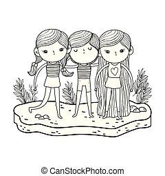 μικρός , μικρόκοσμος , κήπος , γράμμα