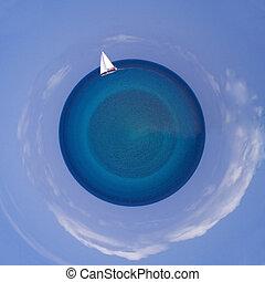 μικρός , πλανήτης , θάλασσα