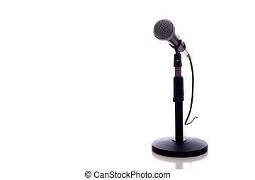 μικρόφωνο , αναμμένος αγαθός