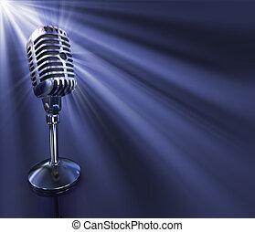 μικρόφωνο , κλασικός