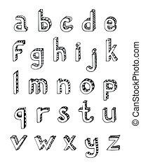 μικρό , αλφάβητο , δραμάτιο , γράμματα