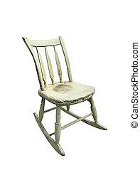 μικρό , κουνιστή καρέκλα