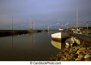 μικρό , λιμάνι