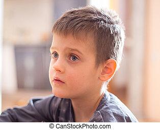 μικρό , πορτραίτο , αγόρι