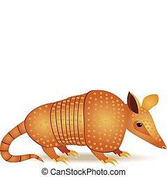 μικρό φολιδωτό ζώο της νότιας αμερικής