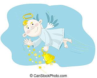 μικρό , χαριτωμένος , άγγελος
