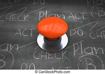 μικτός , πορτοκάλι , εικόνα , ηλεκτρικό κομβίο