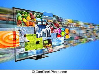 μοιρασιά , διασκέδαση , μέσα ενημέρωσης , πολυμέσα , αναβλύζω , internet