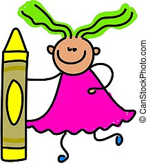 μολύβι , παιδί