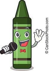 μολύβι , σχήμα , πράσινο , τραγούδι , γουρλίτικο ζώο