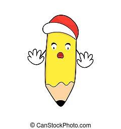 μολύβι , character., δάκτυλο , pencil., μικροβιοφορέας , χαρακτήρας , logo., εικόνα , γελοιογραφία , αγριομάλλης , αναπτύσσομαι. , γραφικός , mascot.