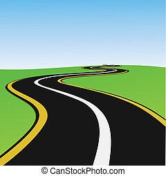 μοναχικός , δρόμος
