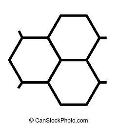 μοντέλο , μοριακός , απομονωμένος , δομή