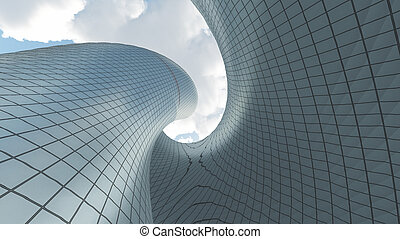 μοντέρνος αρχιτεκτονική
