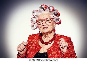 μοντέρνος , γιαγιά
