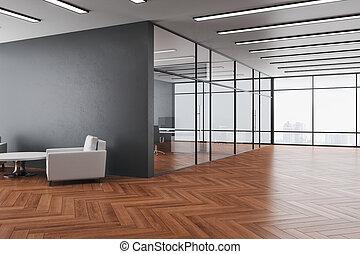 μοντέρνος δωμάτιο , εσωτερικός , έδρα , δυο , αναμονή
