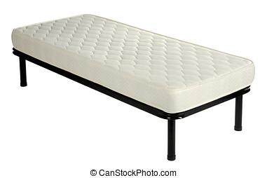 μονό , άσπρο , καναπές , κρεβάτι , στρώμα