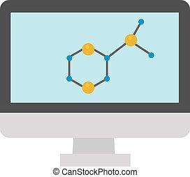 μοριακός , icon., μικροβιοφορέας , δομή