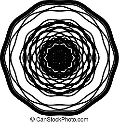 μοτίβο , αλείφω με ιξό , αφαιρώ , ακτινικός , ομόκεντρος ,...